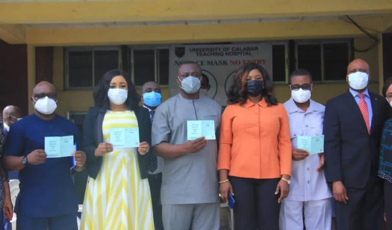 Over 6,000 People Vaccinated In Cross River Against COVID-19 As Betta Edu Flags Off UCTH Vaccination Centre