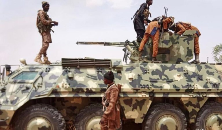 Boko Haram Mocks FG, Releases Photos Of Newly Acquired Armoured Tanks, Operation Vehicles, Others Captured From Nigerian Army