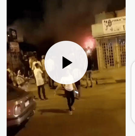 BREAKING!! Complex House By GIG, Marian Road Currently On Fire
