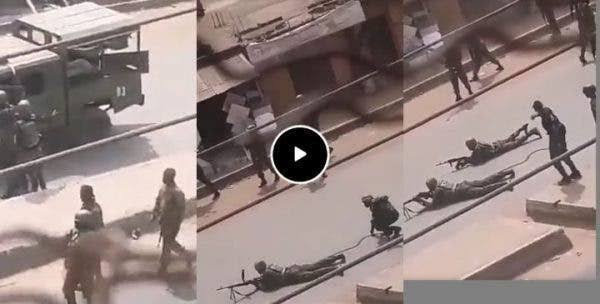 HAPPENING NOW!! Heavy Gunshots In Nsukka As Nigerian Soldiers Engage In A Gun Battle With Nnamdi Kanu's Eastern Security Network