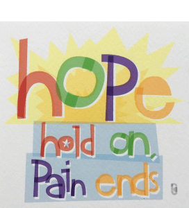 Weez Project Hope Hold On Pain Ends