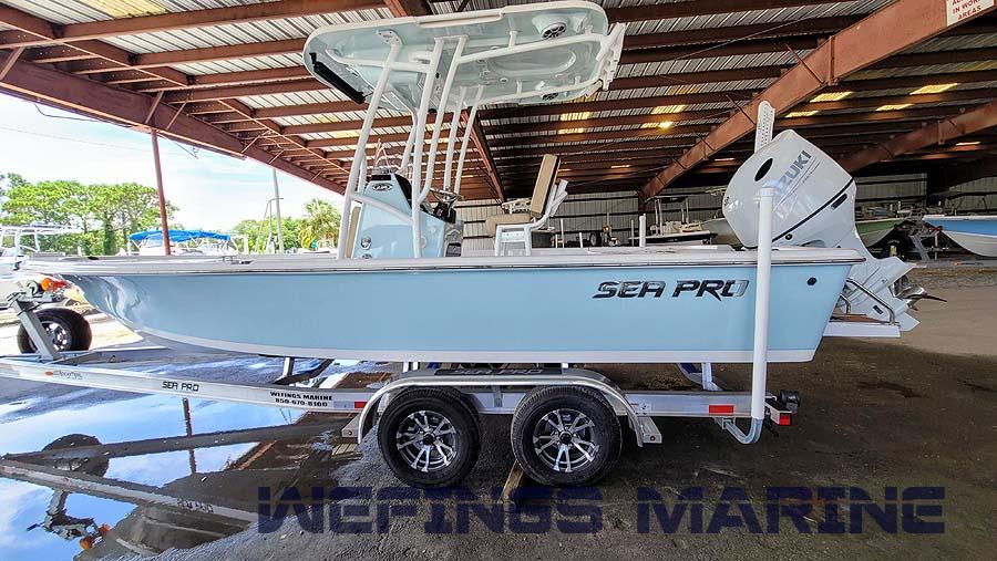 Sea Pro 228 Bay Ice Blue 2022 11