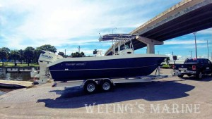 Twin Vee 2018 260GF available now from Wefing's Marine