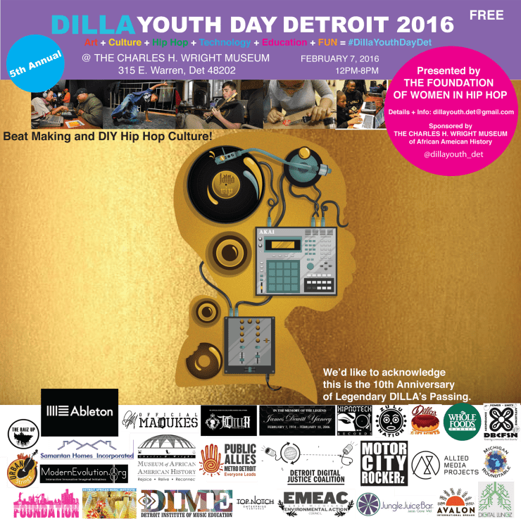 Dilla Youth Day Flyer
