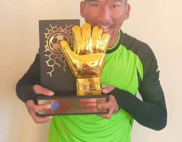 Nepal No1 Kiran Chemjong: Received His Golden Gloves