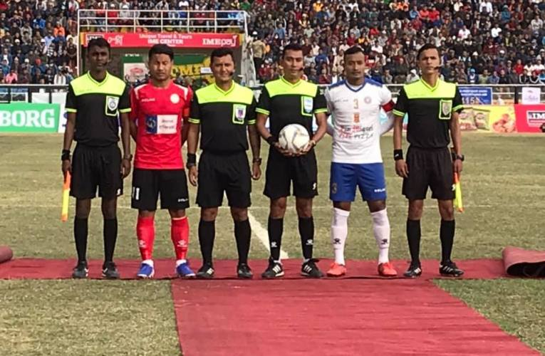 Nepal Police Beats full of star players Machhindra To Enter FINAL Of 22nd Budha Subba Gold Cup
