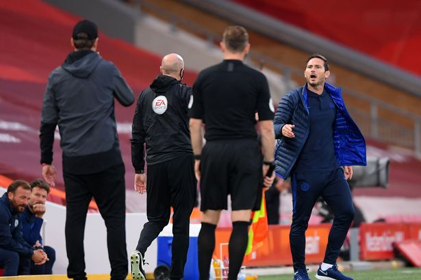 'F*ck off! Lampard vs Klopp's furious in a touchline