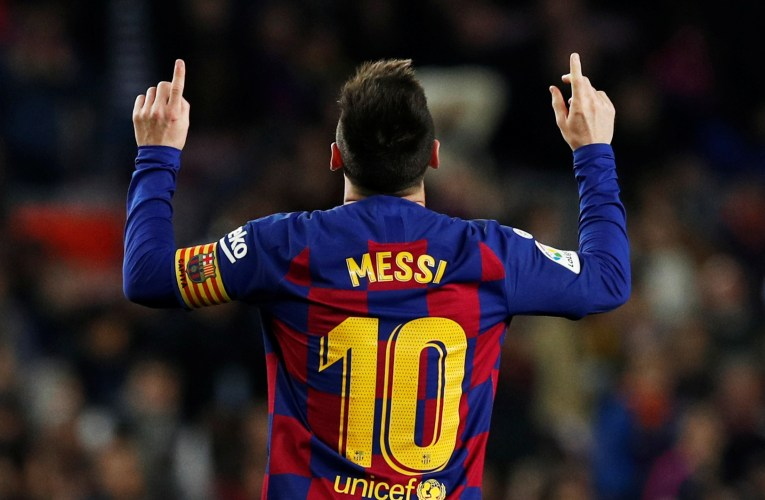 Strategy for Messi to win the Champions League 2019-20