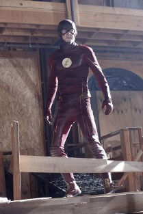 """""""Worlds Finest"""" -- Kara gains a new ally when the lightning-fast superhero The Flash (Grant Gustin, pictured) suddenly appears from an alternate universe and helps Kara battle Siobhan, aka Silver Banshee, and Livewire in exchange for her help in finding a way to return him home, on SUPERGIRL, Monday, March 28 (8:00-9:00 PM, ET/PT) on the CBS Television Network. Photo: Robert Voets/Warner Bros. Entertainment Inc. © 2016 WBEI. All rights reserved."""