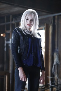 """""""Worlds Finest"""" -- Kara gains a new ally when the lightning-fast superhero The Flash suddenly appears from an alternate universe and helps Kara battle Siobhan, aka Silver Banshee, and Livewire (Brit Morgan, pictured) in exchange for her help in finding a way to return him home, on SUPERGIRL, Monday, March 28 (8:00-9:00 PM, ET/PT) on the CBS Television Network. Photo: Robert Voets/Warner Bros. Entertainment Inc. © 2016 WBEI. All rights reserved."""