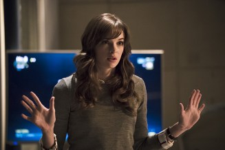 "The Flash -- ""Trajectory"" -- Image FLA216b_0079b -- Pictured: Danielle Panabaker as Caitlin Snow -- Photo: Katie Yu/The CW -- © 2016 The CW Network, LLC. All rights reserved."