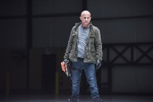 """DC's Legends of Tomorrow -- """"Last Refuge""""-- Image LGN112b_0258b.jpg -- Pictured: Dominic Purcell as Mick Rory/Heat Wave -- Photo: Dean Buscher/The CW -- © 2016 The CW Network, LLC. All Rights Reserved."""
