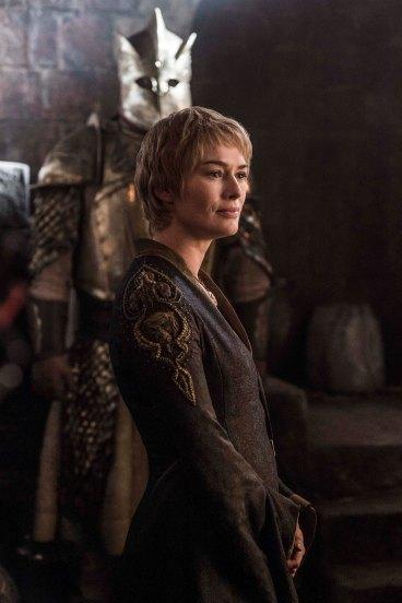 Cersei and her mountainous Kingsguard (Hafþór Björnsson)