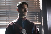 "DC's Legends of Tomorrow --""The Justice Society of America""-- Image LGN202b_0036.jpg -- Pictured: Matthew MacCaull as Commander Steel -- Photo: Katie Yu/The CW -- © 2016 The CW Network, LLC. All Rights Reserved."