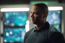 """Arrow -- """"Human Target"""" -- Image AR505a_0038.jpg -- Pictured: David Ramsey as John Diggle -- Photo: Dean Buscher/The CW -- © 2016 The CW Network, LLC. All Rights Reserved."""
