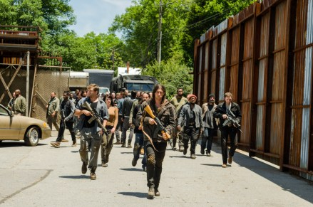 Saviors - The Walking Dead _ Season 7, Episode 4 - Photo Credit: Gene Page/AMC