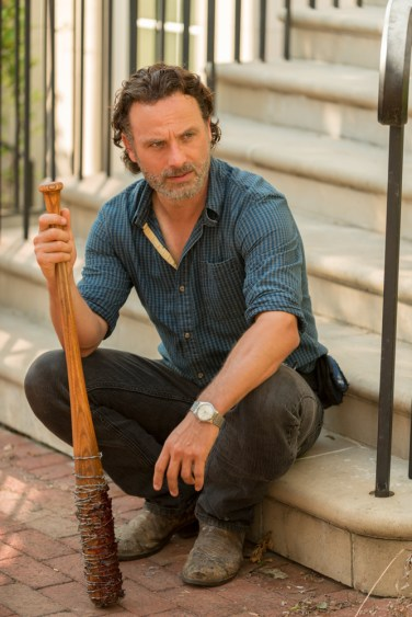 Andrew Lincoln as Rick Grimes - The Walking Dead _ Season 7, Episode 4 - Photo Credit: Gene Page/AMC