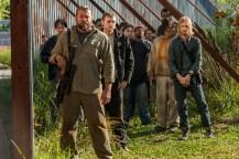 Saviors, Austin Amelio as Dwight, Norman Reedus as Daryl Dixon- The Walking Dead _ Season 7, Episode 4 - Photo Credit: Gene Page/AMC