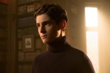 GOTHAM: David Mazouz in the ÒMad City: Smile Like You Mean ItÓ episode of GOTHAM airing Monday, Jan. 23 (8:00-9:01 PM ET/PT) on FOX. Cr: Jessica Miglio/FOX.