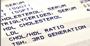 Cholesterol lab report