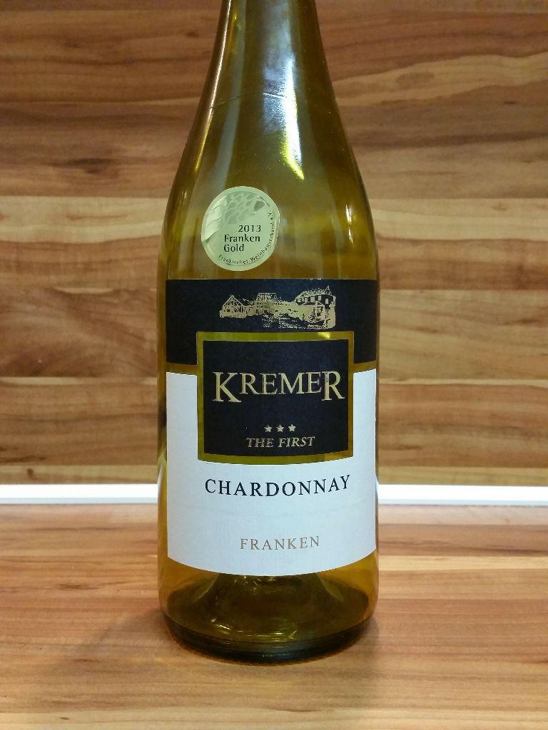 Kremers Winzerhof, Franken – Großheubacher Bischofsberg Chardonnay Spätlese The First trocken 2012