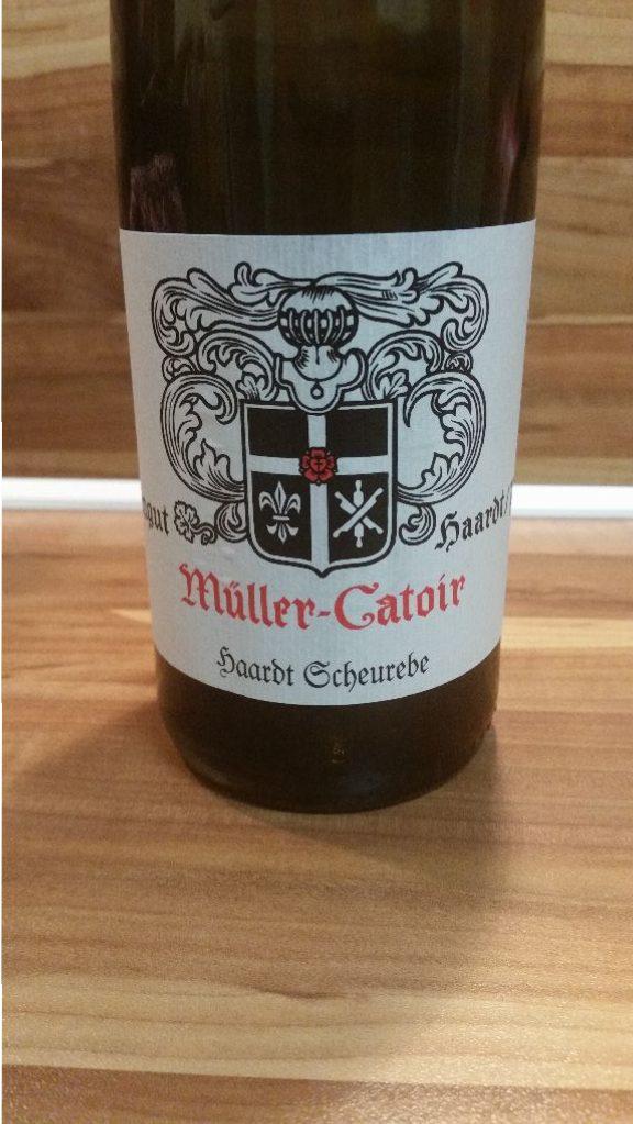 Müller-Catoir, Pfalz – Haardt Scheurebe trocken 2014