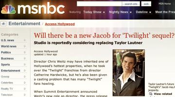 Michael Copon the new Jacob for 'Twilight' sequel?