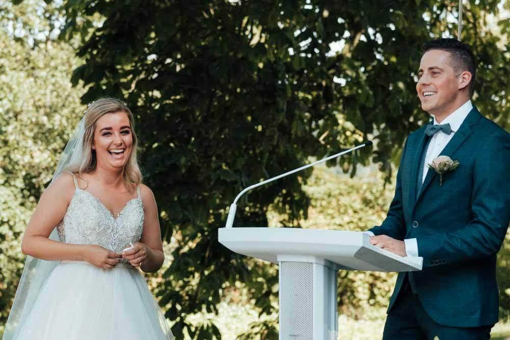 schrijven van trouwgeloften