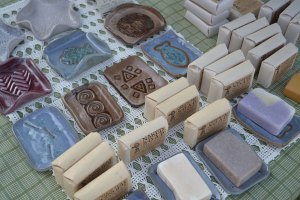 Handmade Soap at Medford Farmers Market