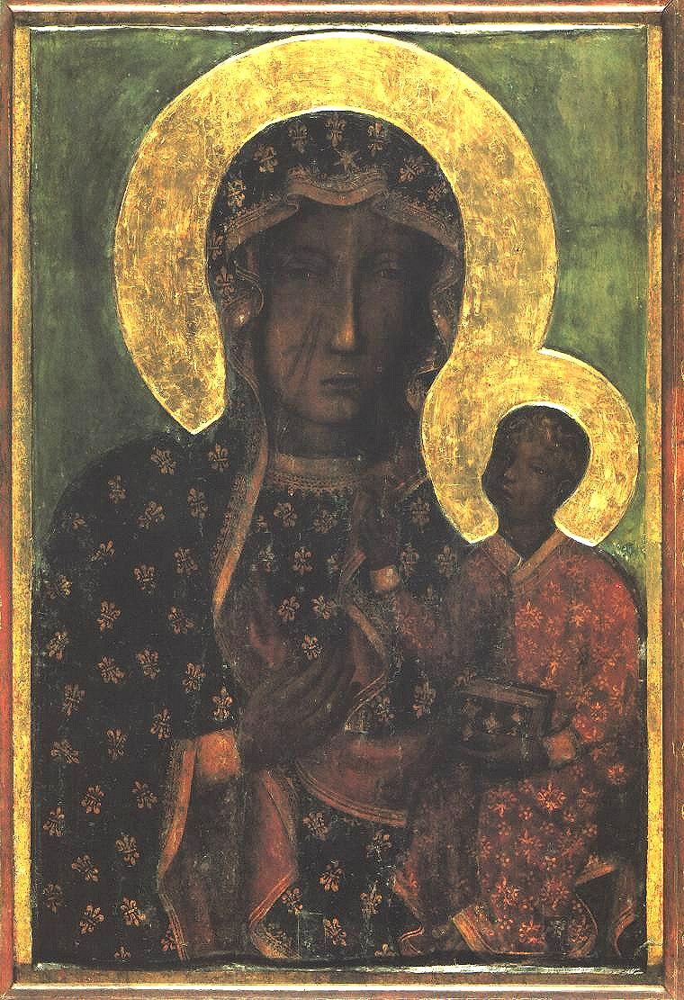 Gnadenbild der Schwarzen Madonna von Tschenstochau