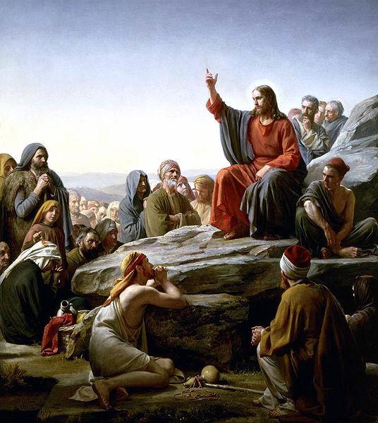 Carl Bloch: Die Bergpredigt