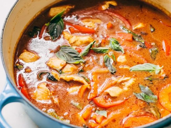 20-Minute Panang Chicken Curry