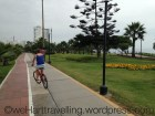 Great cycle lanes - though you do have to swerve off to avoid getting lacerations from the low hanging palm trees
