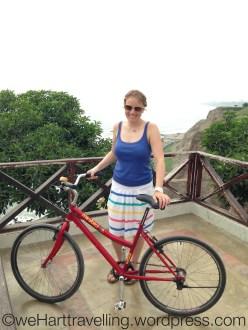 Enjoying cycling again