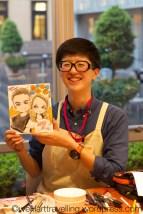 Our finsihed Manga portrait