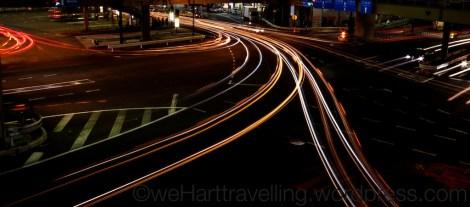 Streaming car lights
