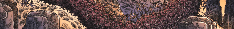Banner - Godzilla In Hell 1 detail by James Stokoe - B