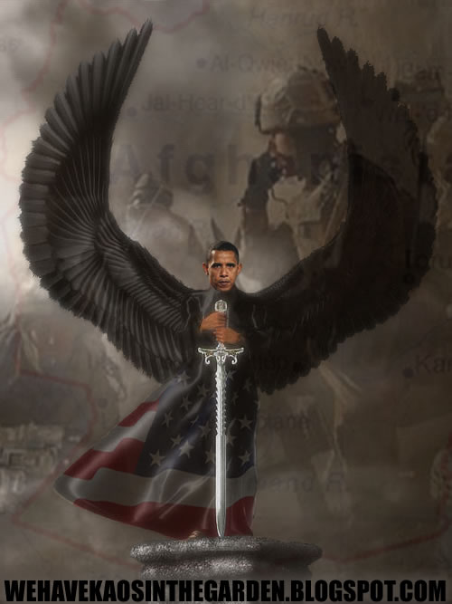 Obama afganistao black angel