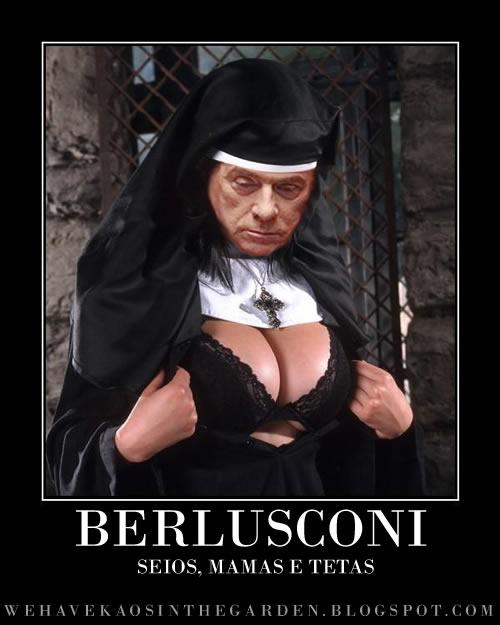 Berlusconi mamas e tetas