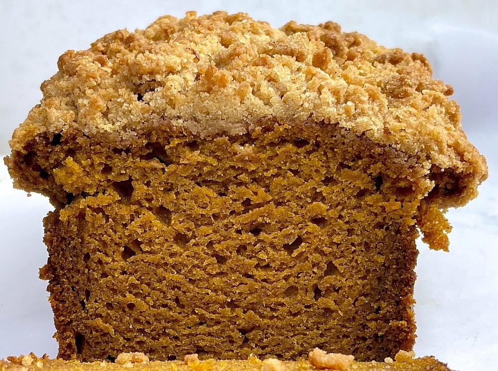 Pumpkin Loaf With Streusel Topping (Arkansas Democrat-Gazette/Kelly Brant)