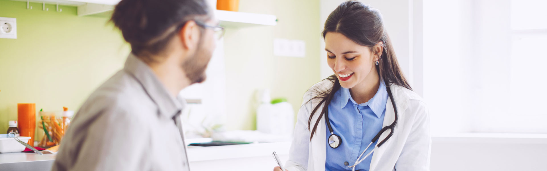 doctor with female nurse
