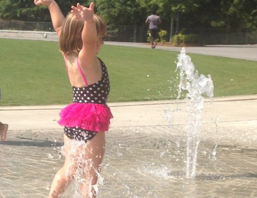 Splash Pad Birthday Party