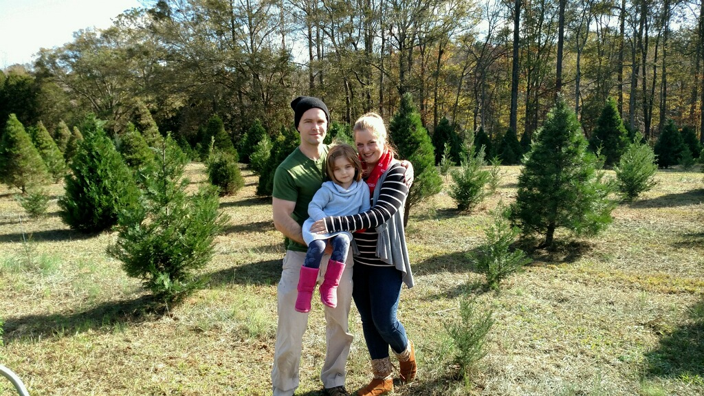 photo at atlanta christmas tree farm