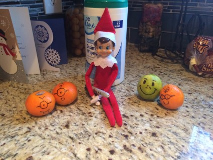 elf on the shelf minion idea