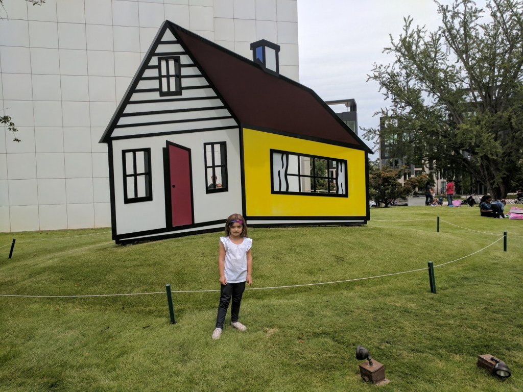 high museum of art outside installment