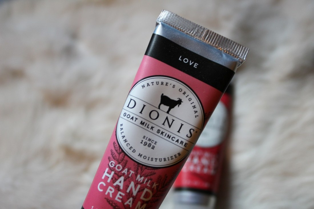 dionis goat milk hand cream