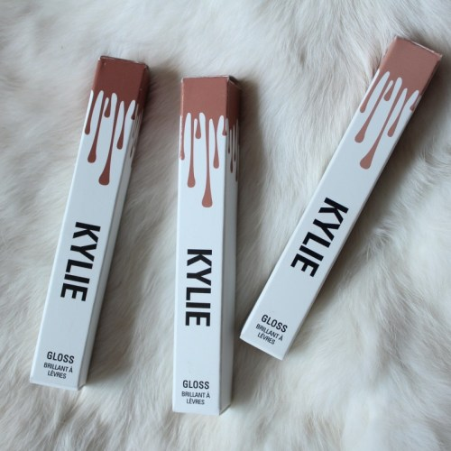 kylie cosmetics by kylie jenner lipglosses