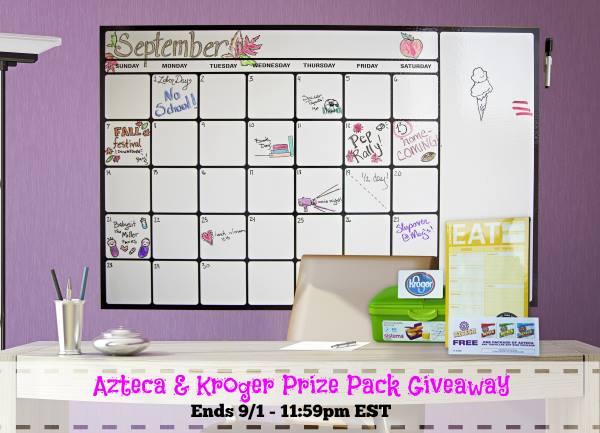Azteca Foods & Kroger Prize Pack Giveaway