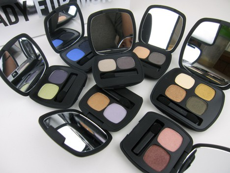 BE0512 Ready or not, here they come   the latest bareMinerals READY Eye shadow duos and quads!