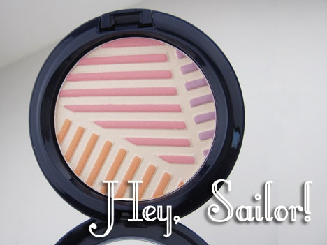 MACheysailor1A MAC Hey, Sailor! Cheeks, Nails & Body   review, photos & swatches